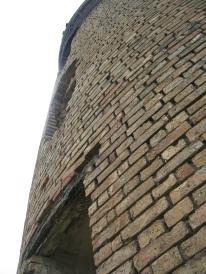 Mennonite made bricks and masonry.