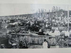 Mennonite emmigration 1922